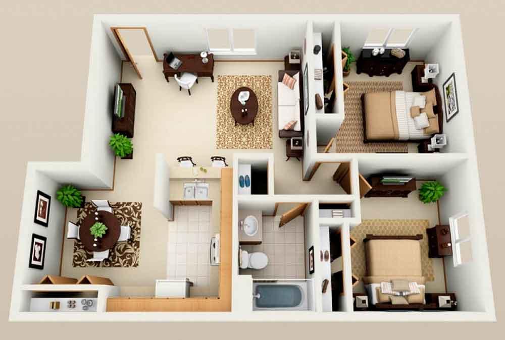 Строительство домов в Крыму - Проекты домов 12 х 12