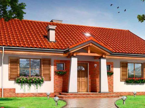 Строительство домов в Крыму - Проекты домов 120 кв.м.