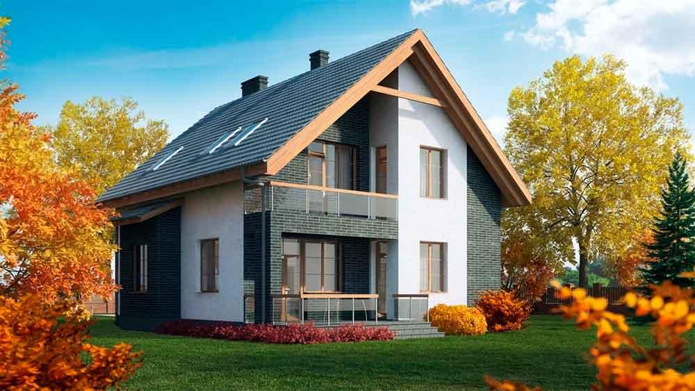 Строительство домов в Крыму - Проекты простых домов