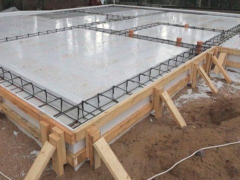 Строительство домов в Крыму - РПП (ребристая плавающая плита)