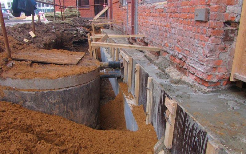 Строительство домов в Крыму - Методы укрепления